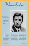 American Authors of the 20th Century - William Faulkner Wall Poster