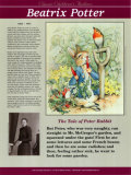 Classic Children's Authors - Beatrix Potter Wall Poster
