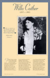 American Authors of the 20th Century - Willa Cather Wall Poster