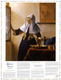 Masterworks of Art - Johannas Vermeer - Young Woman