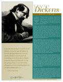 Great British Writers - Charles Dickens Wall Poster
