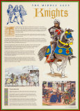 The Middle Ages- Knights Wall Poster
