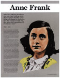 Heroes of the 20th Century - Anne Frank Wall Poster