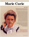 Heroes of the 20th Century - Marie Curie Wall Poster