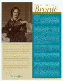 Great British Writers - Charlotte Brontë Wall Poster