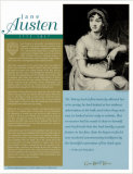 Great British Writers - Jane Austen Wall Poster