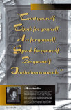 Inspirational Quotations - Marva Collins Poster