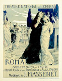 Roma Opera, Jules Massenet, Art Print