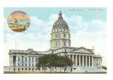 State Capitol, Topeka, Kansas, Art Print