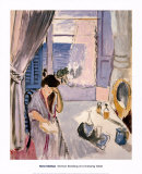 Woman Reading at a Dressing Table, Late 1919, Art Print, Henri Matisse
