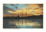 Harbor, Petosky, Michigan Art Print
