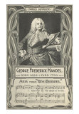 George Frederick Handel and the Messiah, Art Print