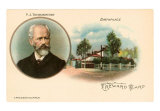 Tchaikovsky and Birthplace, Art Print