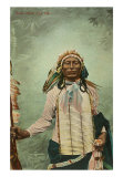 Iron Tail, Sioux Warrior Art Print