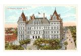 NY State Capitol, Albany,Art Print