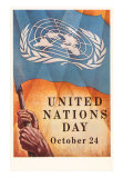 United Nations Day- October 24, Art Print