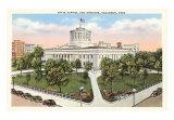Ohio State Capitol, Columbus Art Print