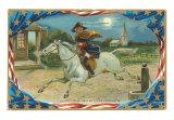 Paul Revere's Ride Art Print