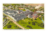 Chocolate Factory, Hershey, Pennsylvania, Art Print