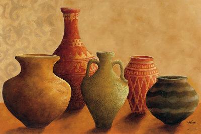 Vessels of Casablanca I Art Print