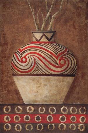 Ethnic Fire II Art Print