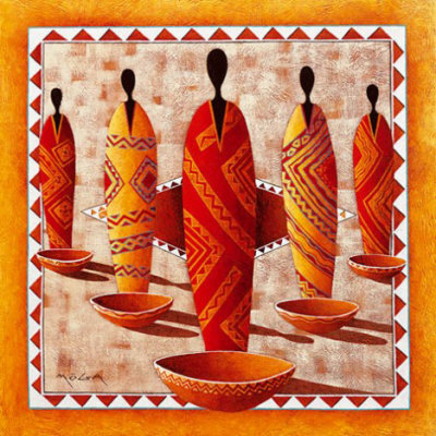 Ethnic Graphic II Art Print