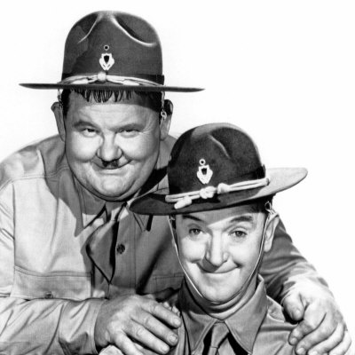 Great Guns, Oliver Hardy, Stan Laurel, 1941 Photographie