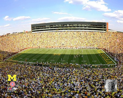 University of Michigan Stadium Desktop Photomint