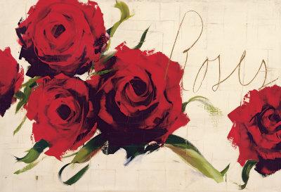 Rosas Lámina