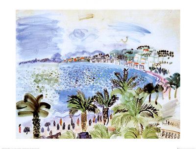 La Promenade des Anglais, c.1928 Art Print