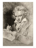 Ludwig Van Beethoven, Giclee Print