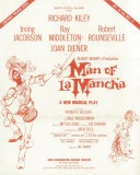 Man of La Mancha, Masterprint, 1965 Broadway Show