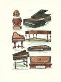 Pianos Art Print