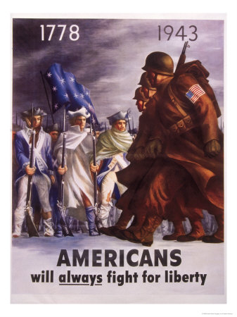 WWII Posters Giclee Print