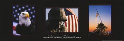 American Soldiers Art Print