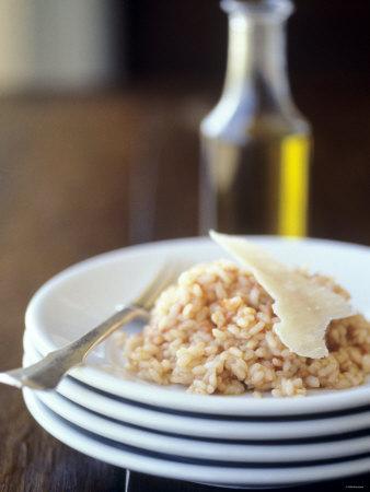 Risotto Al Pomodoro (Tomato Risotto with Parmesan, Italy) Photographic Print