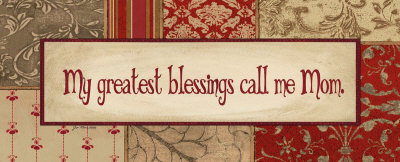 My Greatest Blessings Art Print