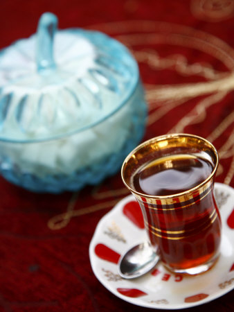 Turkish Tea, Istanbul, Turkey, Europe Photographic Print