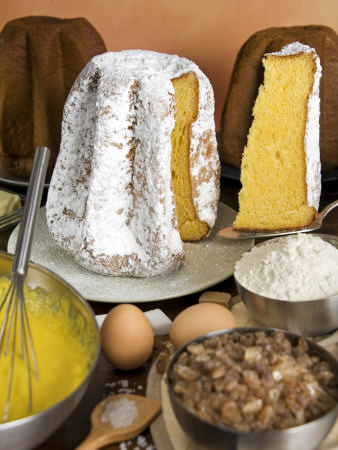 Pandoro of Verona, Christmas Cake, Veneto, Italy, Europe Photographic Print
