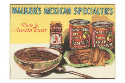 Mexican Food Specialties Premium Poster