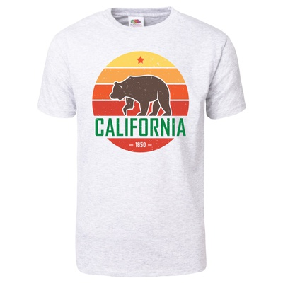 California Grizzly Bear T-Shirt T-shirts