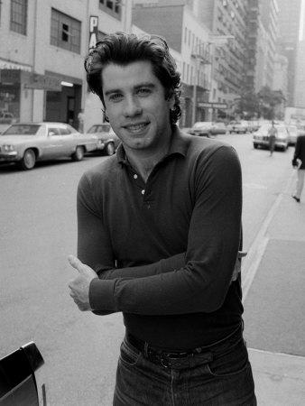 John Travolta Premium Photographic Print