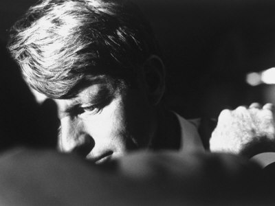 Author Teddy White Consoling Sen. Robert Kennedy after Losing the Oregon Primary Photographic Print by Bill Eppridge
