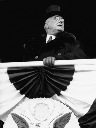 President Franklin D. Roosevelt During His Inauguration Photographic Print by Thomas D. Mcavoy