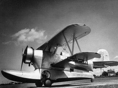 US Navy Grumman J2F-1 Amphibious Aircraft Photographic Print by Margaret Bourke-White