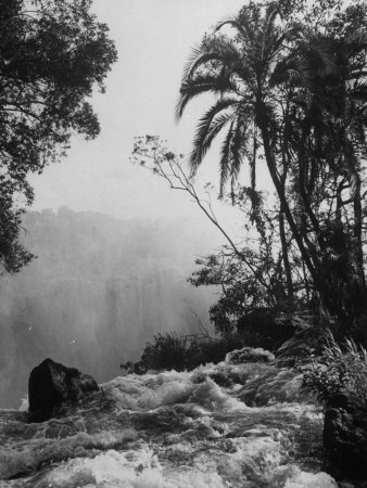 View of Victoria Falls Photographic Print by James Burke