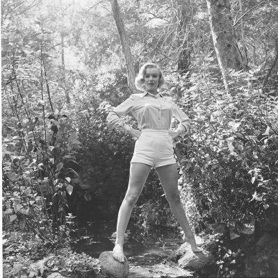 Marilyn Monroe Premium Photographic Print by Ed Clark