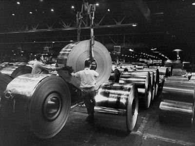 Weirton Steel Mill Photographic Print