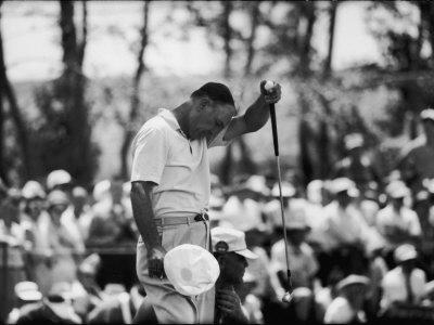 Ben Hogan U.S. National Open Golf Tournament Cherry Hills Country Club Photographic Print by Ralph Crane