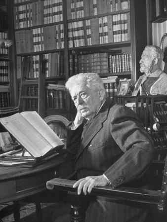 Portrait of Vittorio Emanuele Orlando, Elder Statesman of Italian Politics Photographic Print by Alfred Eisenstaedt